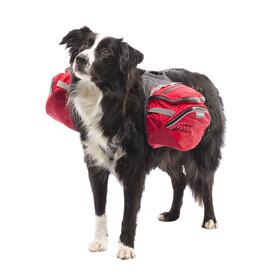 Ruffwear Palisades Pack Eläintarvikkeet , punainen